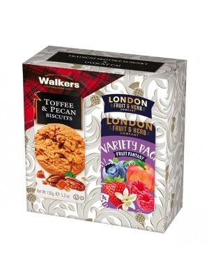 London Darčeková sada sušienky a čaj fruit fantasy (1109)