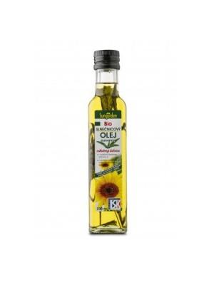 Olej BU bio panenský slnečnicový so šalviou 250 ml