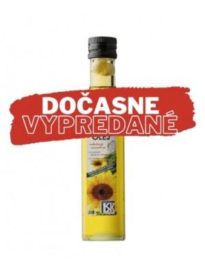 Olej BU bio slnečnicový s cesnakom 250 ml
