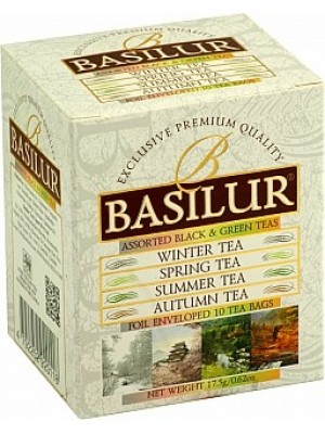 BASILUR Four Seasons Assorted 5x1,5g a 5x2g (4954)