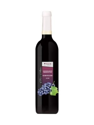 Hučko Dornfelder slovenské akostné víno červené suché 0,75l