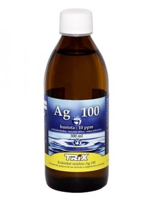 Koloidné striebro Ag100 300 ml 10 ppm