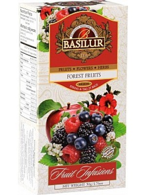 BASILUR Fruit Forest Fruits neprebal 25x2g (7326)