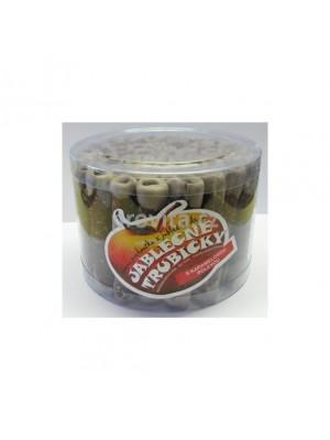 Jablkové trubičky dóza s karamelovou polevou - bezlepkové 540g