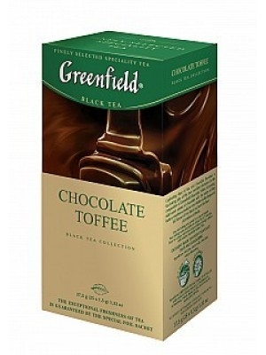 Greenfield Black Chocolate Toffee prebal 25x1.5g (5615)