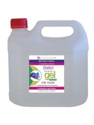 VIVACO čistiaci gel na ruky s dezinfekčným účinkom 3l-kanister