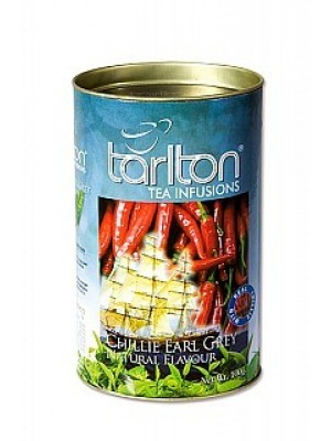 TARLTON Green Chillie Earl Grey dóza 100g (7002)