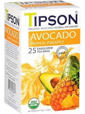 TIPSON BIO Avocado Tropical Pineapple prebal 25x1,5g (5032)