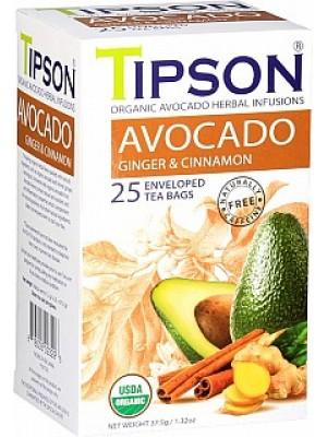 TIPSON BIO Avocado Ginger & Cinnamon prebal 25x1,5g (5033)