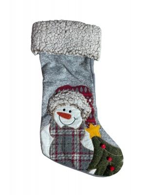 Vianočná ponožka 45x25cm