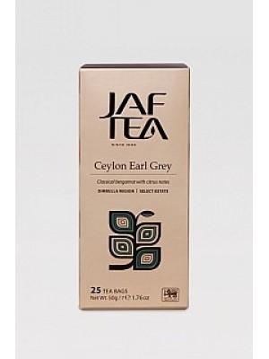 JAFTEA Black Ceylon Earl Grey neprebal 25x2g (2763)