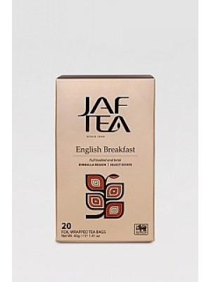 JAFTEA Black English Breakfast prebal 20x2g (2820)
