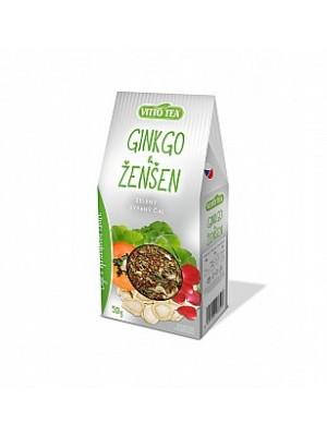 VITTO Green Ginkgo & ženšen papier 50g (993)