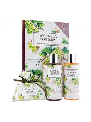 Botanica - gel 200ml, šampon 200ml a mydlo 100g – chmel (BC 190046)