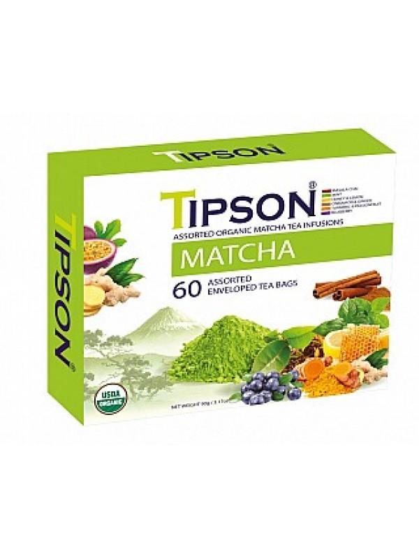 TIPSON BIO Matcha Kazeta Variacia  60x1,5g (5076)