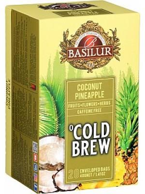 Basilur Cold Brew Coconut Pineapple prebal 20x2g (3991)