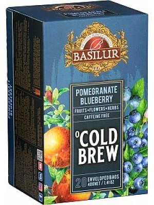 Basilur Cold Brew Pomegranate Blueberry prebal 20x2g (3993)