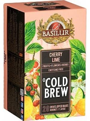 Basilur Cold Brew Cherry Lime prebal 20x2g (3994)