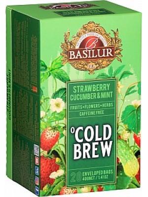 Basilur Cold Brew Strawberry Cucumber & Mint prebal 20x2g (3992)
