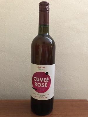 Hučko Cuveé rosé poctivé slovenské víno 0,75l