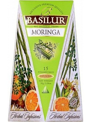 BASILUR Herbal Infusions Moringa 15x2g (4094)