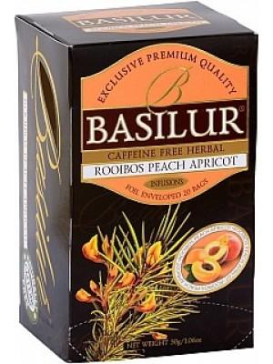 BASILUR Rooibos Peach Apricot  20x1,5g (3980)