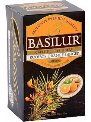 BASILUR Rooibos Orange Ginger 20x1,5g (3982)