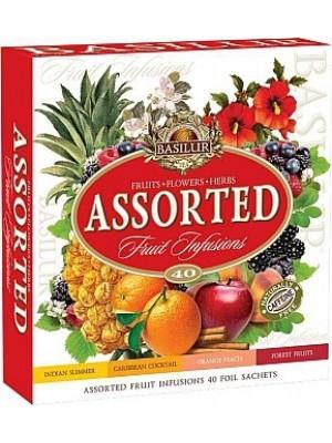 BASILUR Fruit Infusions Assorted prebal 40 sáčkov (4430)