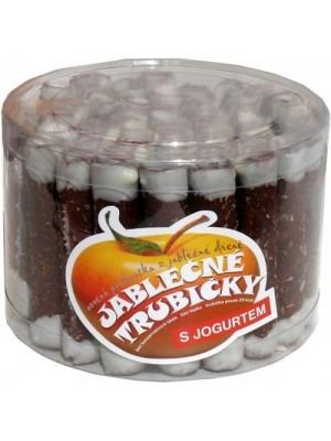 Jablkové trubičky dóza s jogurtom - bezlepkové 540g