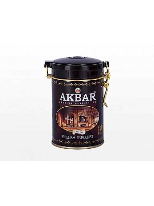 AKBAR Classic English Breakfast plech 100g (1560)