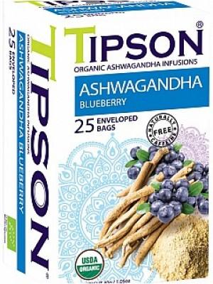 TIPSON BIO Ashwagandha Blueberry 25x1,2g (5086)