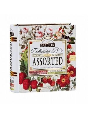 BASILUR Book Assort 32 No.1 plech 32 gastro sáčkov (7772)