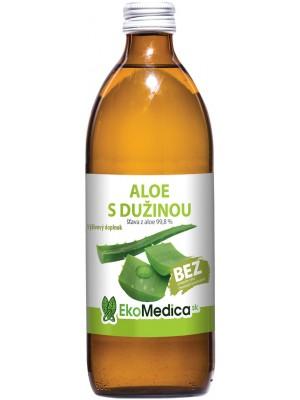 Šťava Aloe s dužinou 99,8% 500 ml - EkoMedica