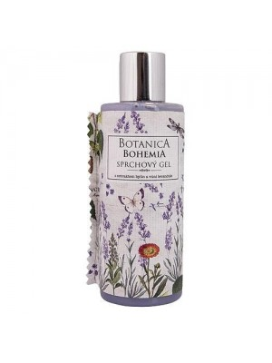 Botanica  krémový sprchový gel 200 ml – levanduľa (BC 190010)
