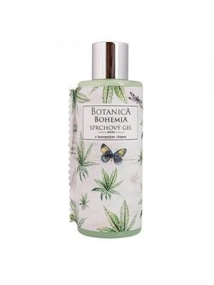 Botanica  krémový sprchový gel 200 ml - konopný (BC 190019)