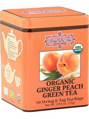 BREW LA LA TEA BIO Green Organic Ginger Peach 50x1 (2514)