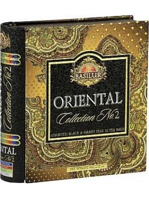 BASILUR Book Orient Assorted II plech 32 gastro sáčkov (7785)