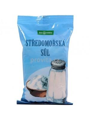 Sol stredomorská nerafinovaná 500g Bionebio