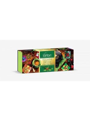 Tarlton Čarovné Vianoce Assortment 5 Green Tea 100x2g (4367)