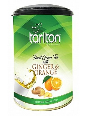 TARLTON Green Ginger & Orange dóza 100g (6993)