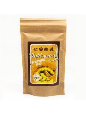 Chute indonezie BIO RAW Kurkuma mletá  – 100g