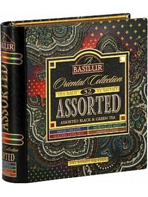 BASILUR Book Assorted Orient plech 32 gastro sáčkov (7783)