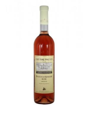 Chateau Valtice Svätovavrinecké rose víno polosuché 0,75l