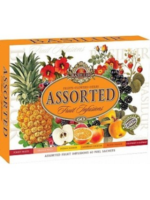 BASILUR  Fruit Infusions Assorted prebal 60 sáčkov (4431)