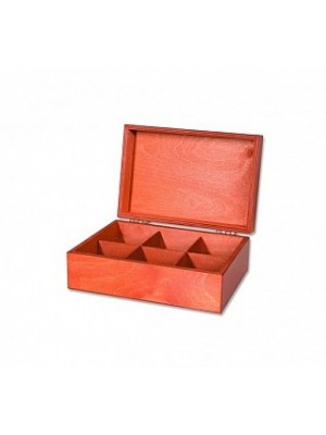"""Drevená krabica """"Konvička"""" prázdná 6x10 (93086)"""
