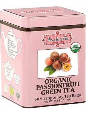 BREW LA LA TEA BIO Green Organic Passionfruit 50x1 (2518)
