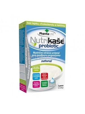Nutrikaša probiotik natural 3x60g