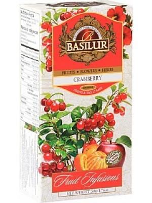 BASILUR Fruit Cranberry neprebal 25x2g (7331)