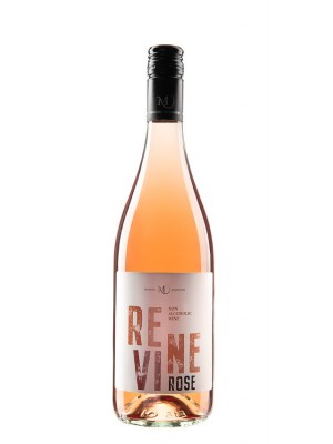 Víno Revine rose 0,75l polosladké nealkokoholické