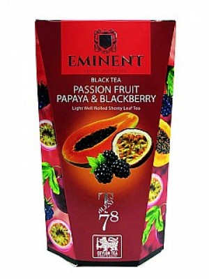 EMINENT Black Tea Fruit Papaya & Blackberry papier 100g (6854)